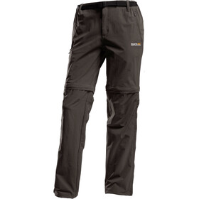 Regatta Xert II Stretch Zip of Trousers Kurz Herren seal grey